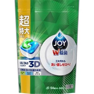 P&G P & G  雙重除菌酵素強力洗淨洗碗碟機洗碗凝膠特大54粒 840g