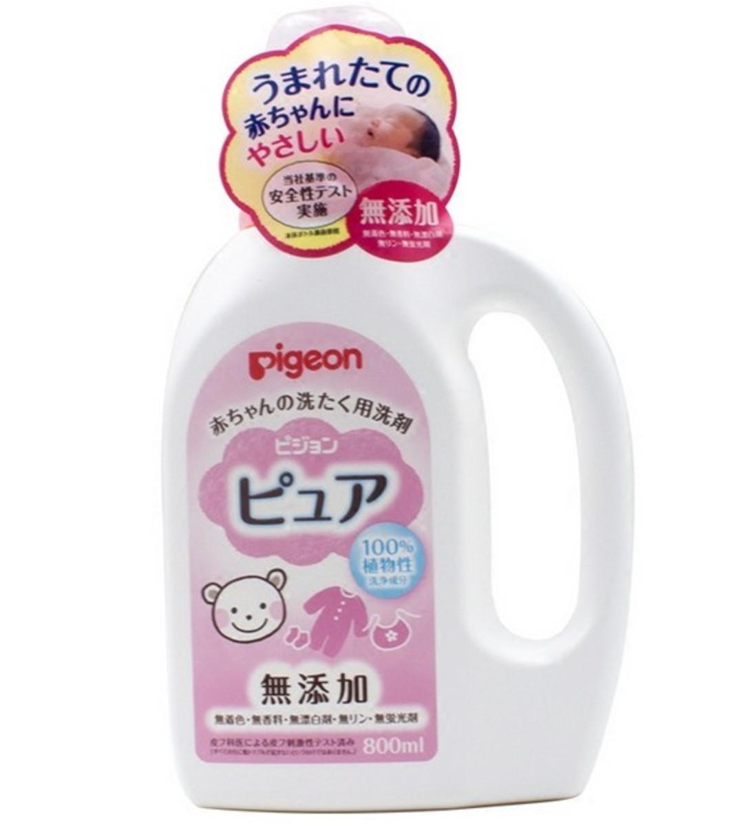 嬰兒無添加衣服洗衣液 800ml 粉紅 支裝