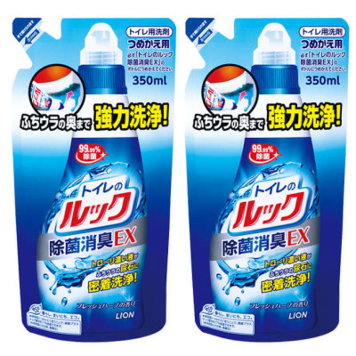 廁所除臭除菌EX清潔劑 350ml x 2 (補充裝)