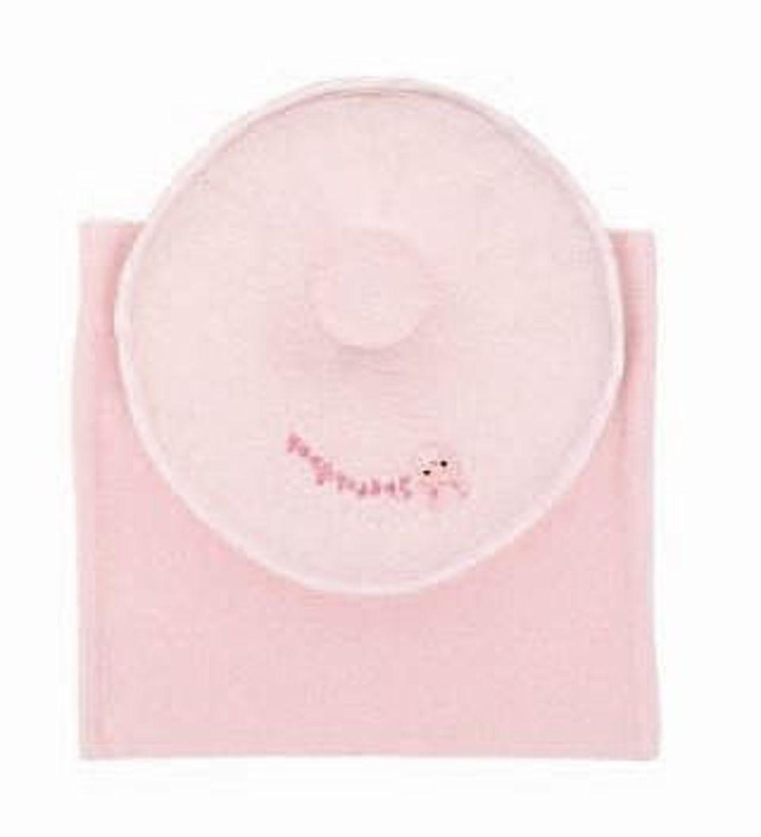 醫生推介嬰兒冬甩枕 21x21cm, 粉紅
