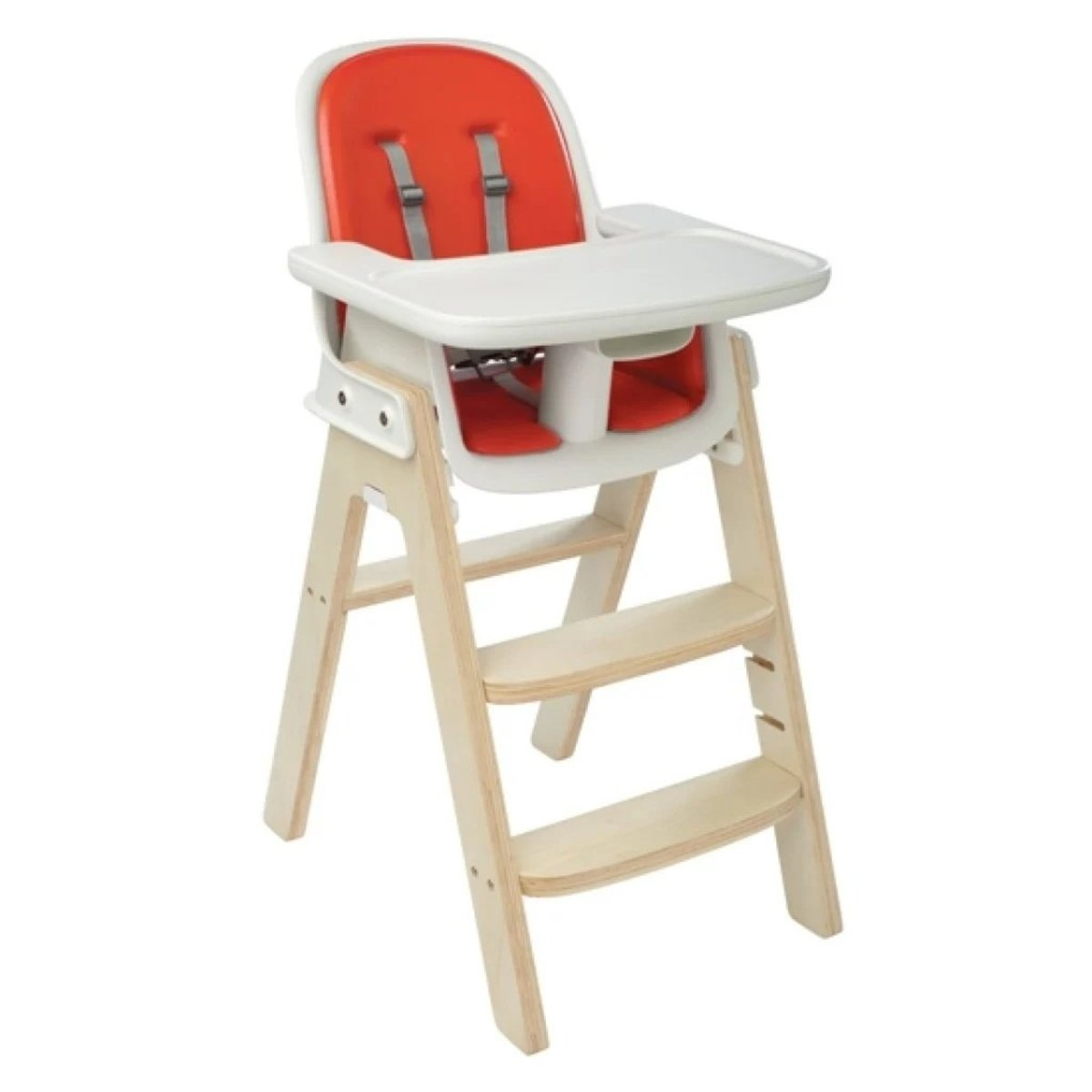 Tot Sprout high Chair Orange/ Birch One Size