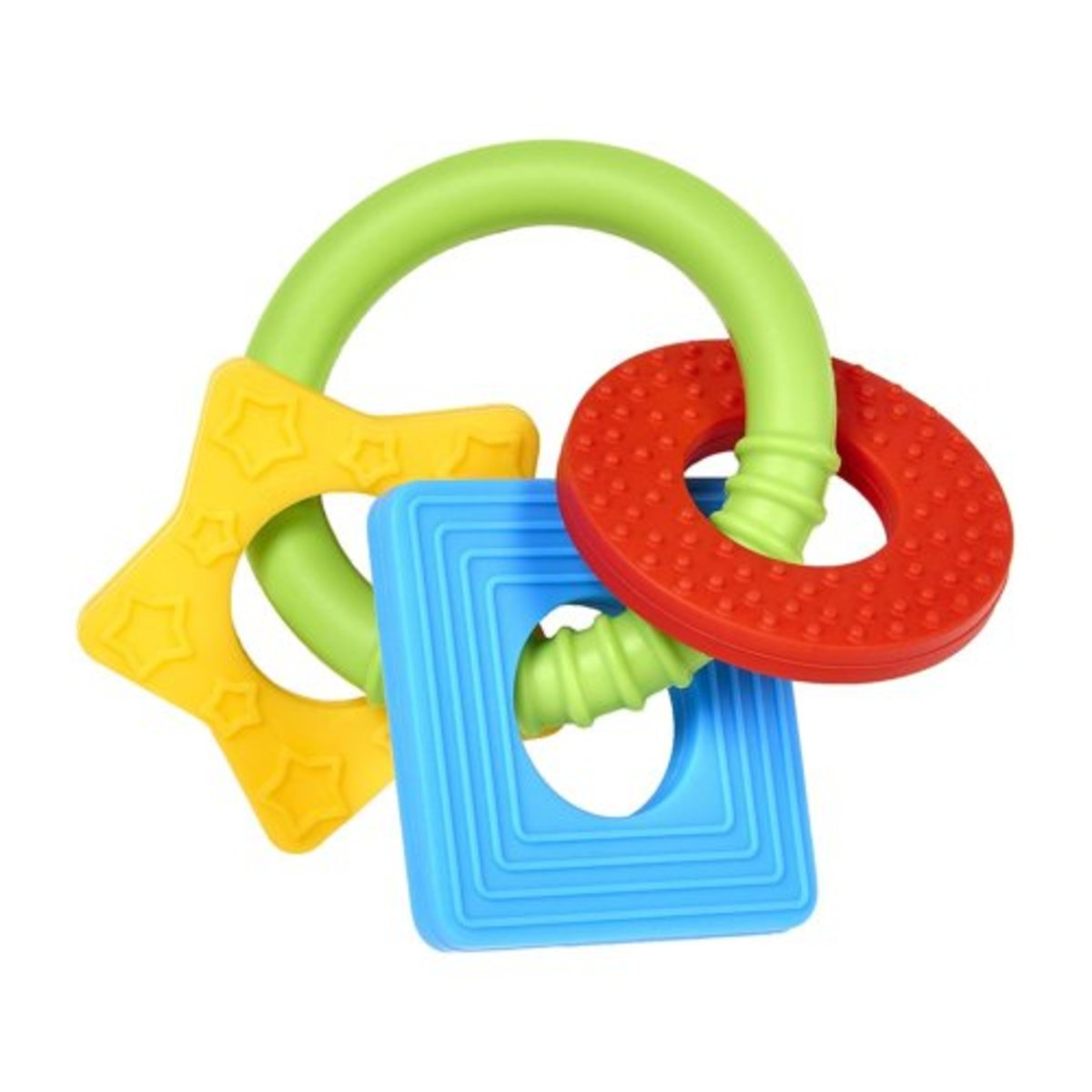 Learning Loop Infant Teether with Multi-Textured Design (parallel goods)