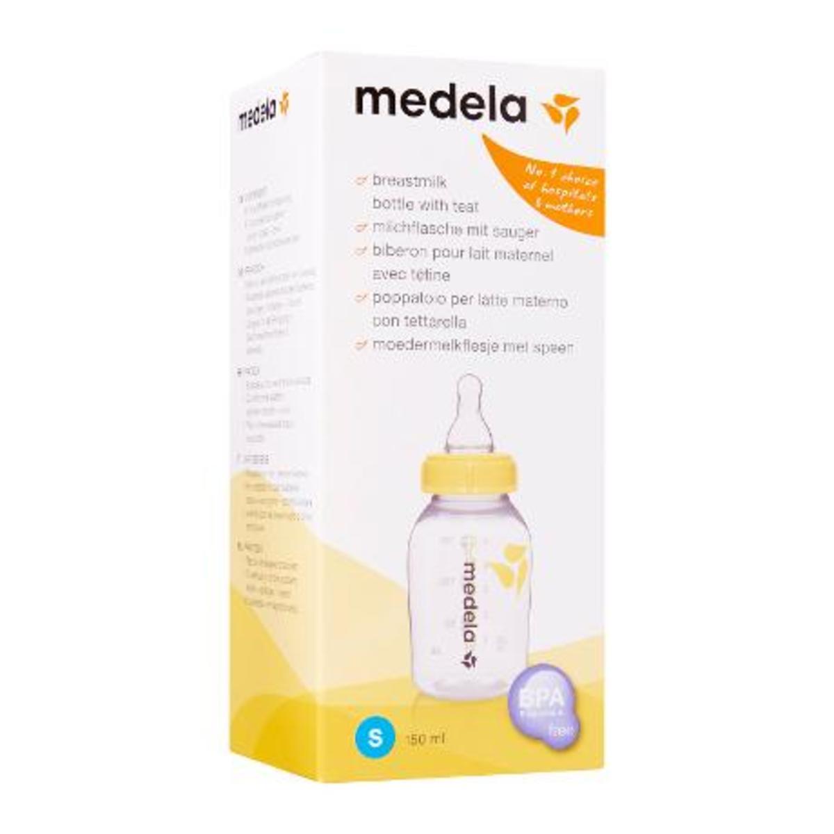 Medela 儲奶瓶連細碼奶嘴 , 150ml