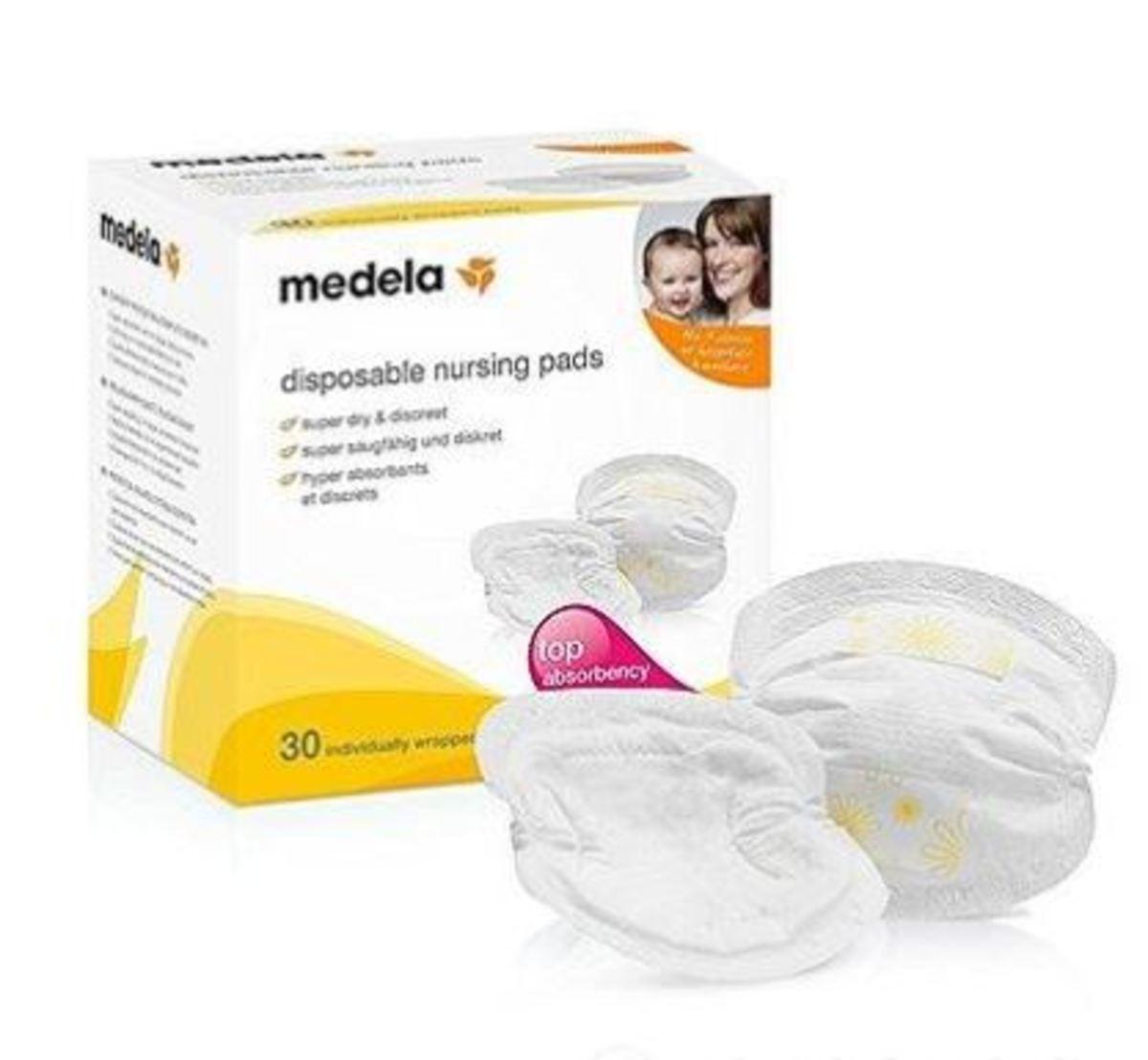 medela - 即棄舒適乳墊 30塊