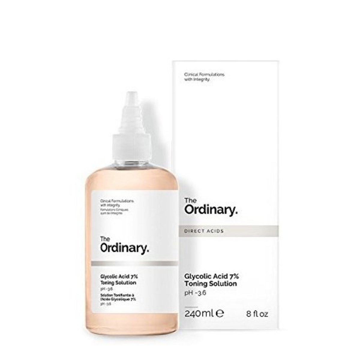 Glycolic Acid 7% Toning Solution (240ml) [Parallel Import]