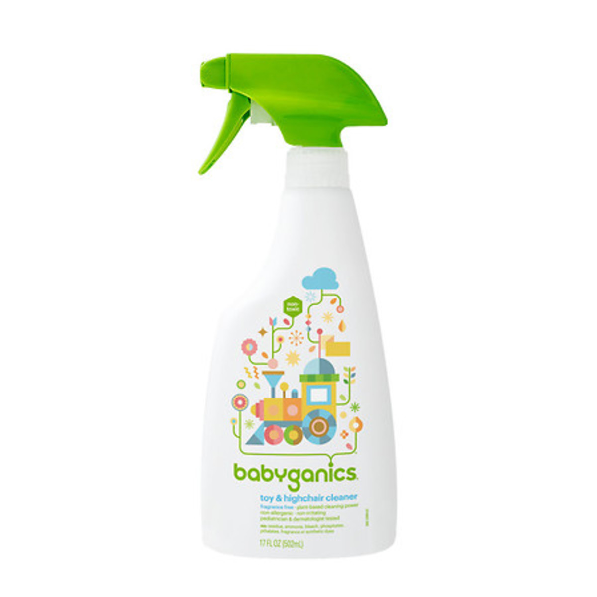 Toy & Highchair Cleaner - Unscented 502ml