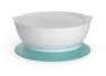 專利防漏防滑吸盤碗-附蓋(藍)