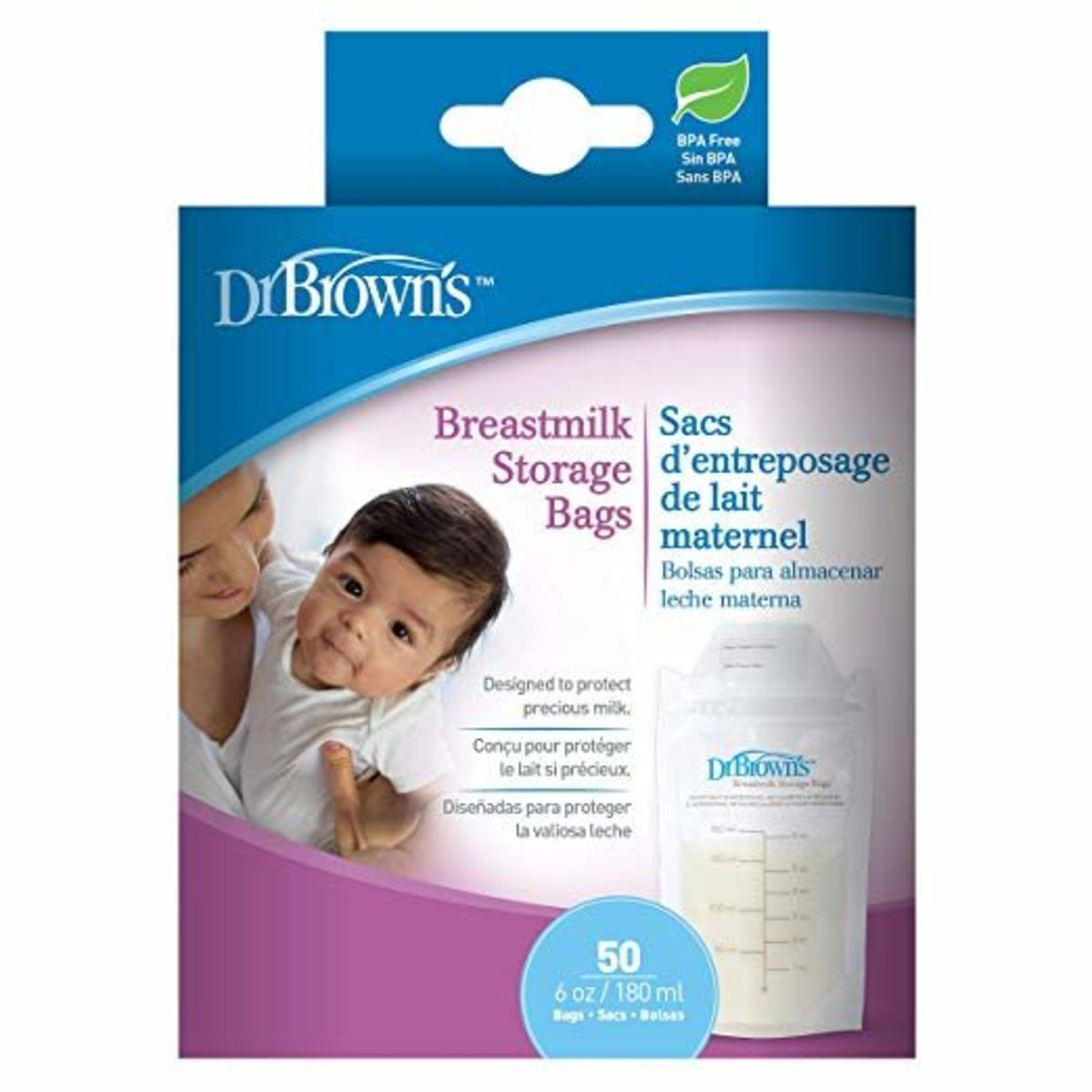 Breastmilk Storage Bags 50 packs (parallel goods)
