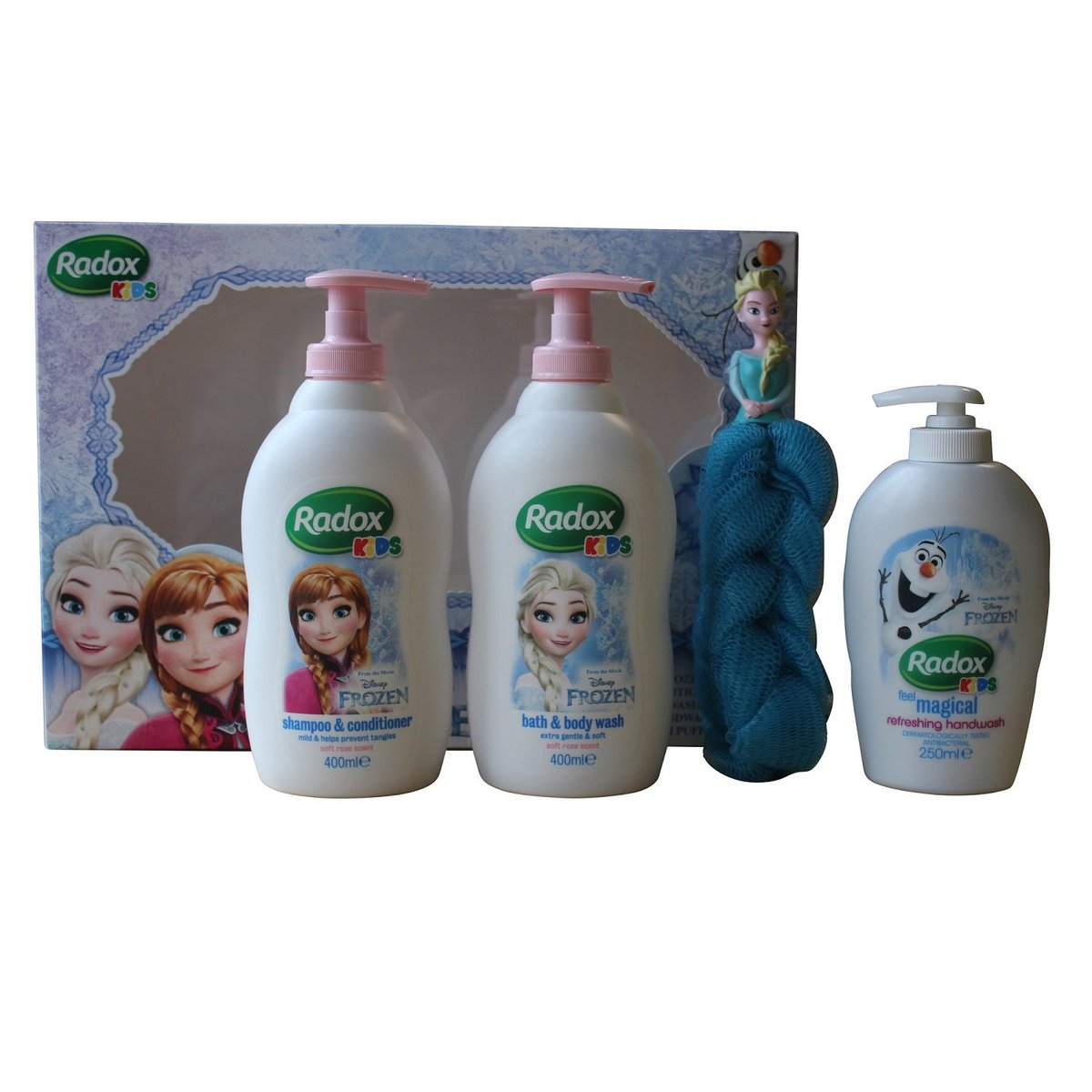 FROZEN 4Pcs Bath Gift Set (8710908820915)