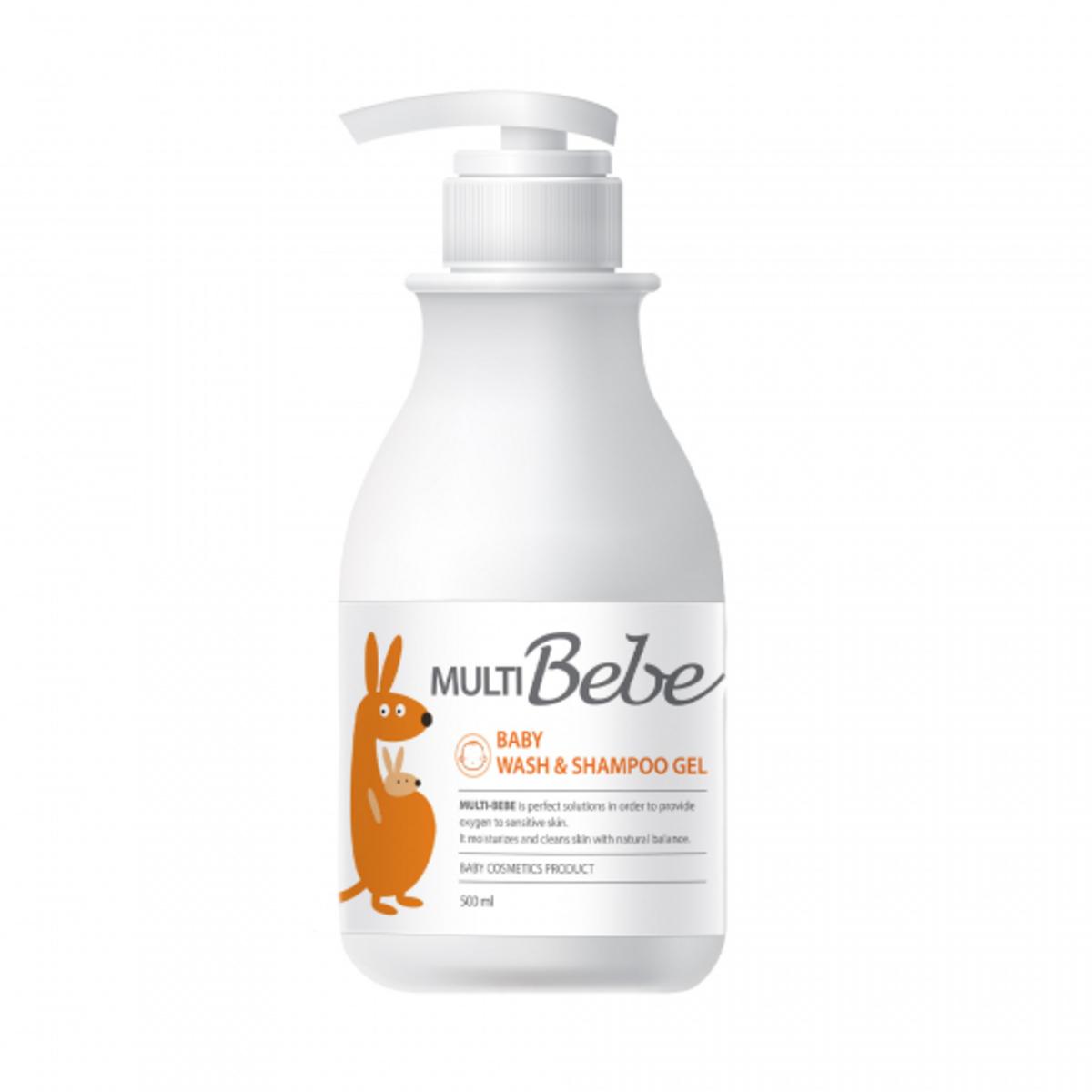 Baby Wash & Shampoo Gel 500ml