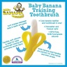 Infant Training Toothbrush and Teether (Yellow)