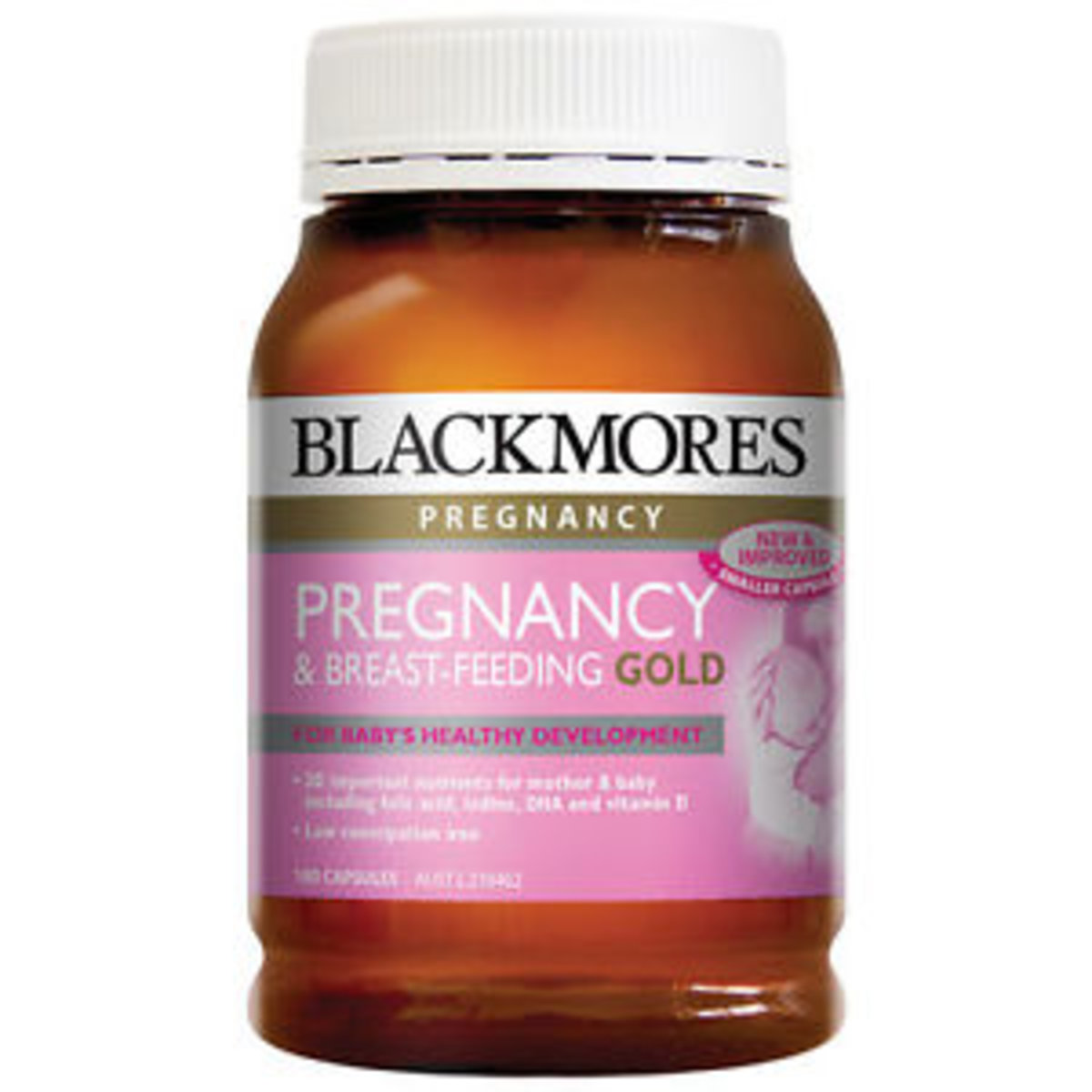 Pregnancy and Breast Feeding Gold 180cap  [Parallel Import Product]
