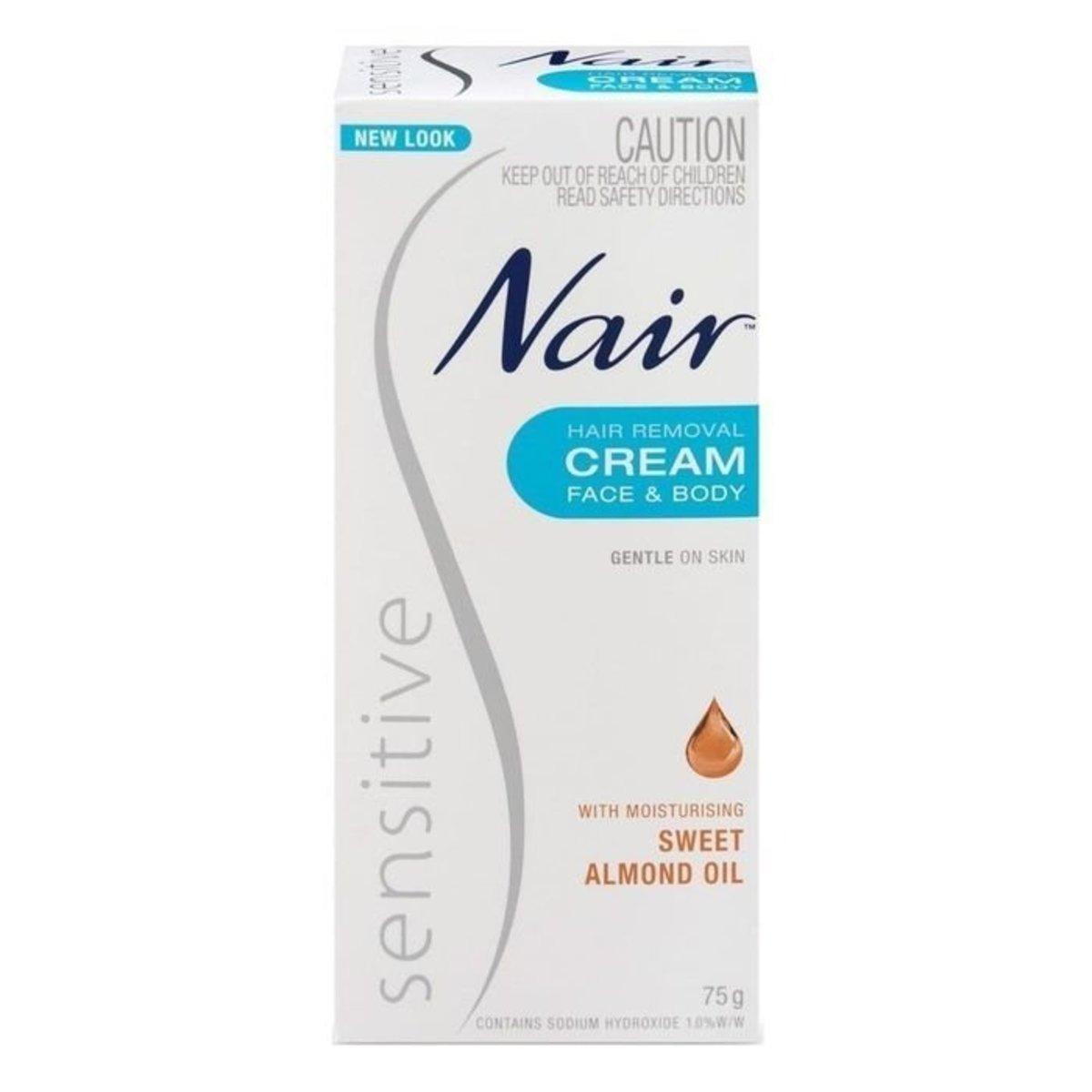 Sensitive Hair Removal Cream 75g