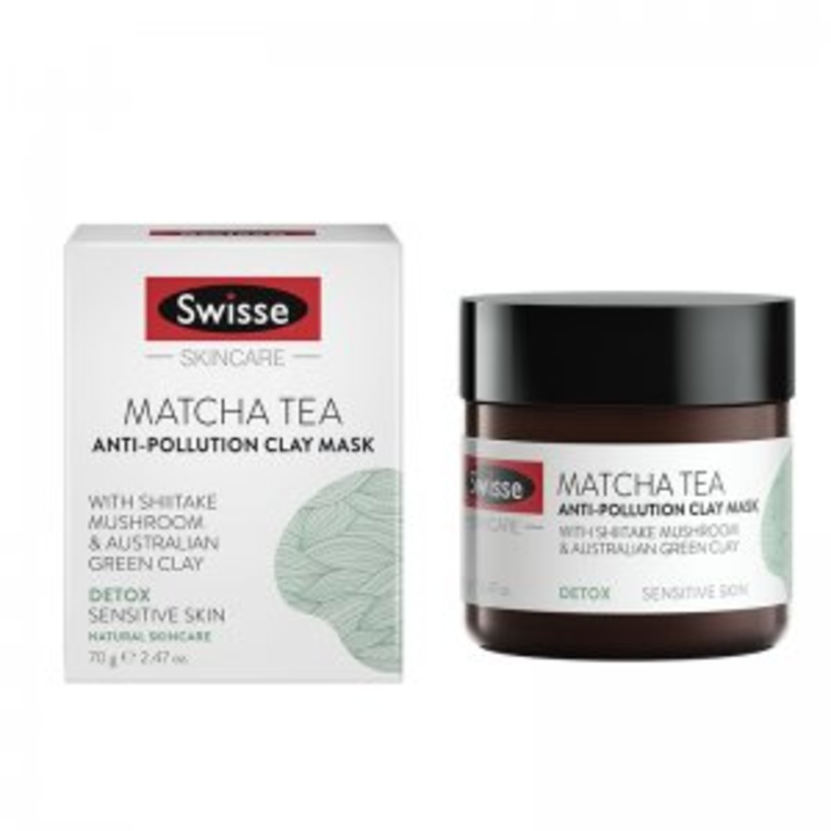 Matcha Tea Anti Pollution Clay Mask 70g (parallel goods)