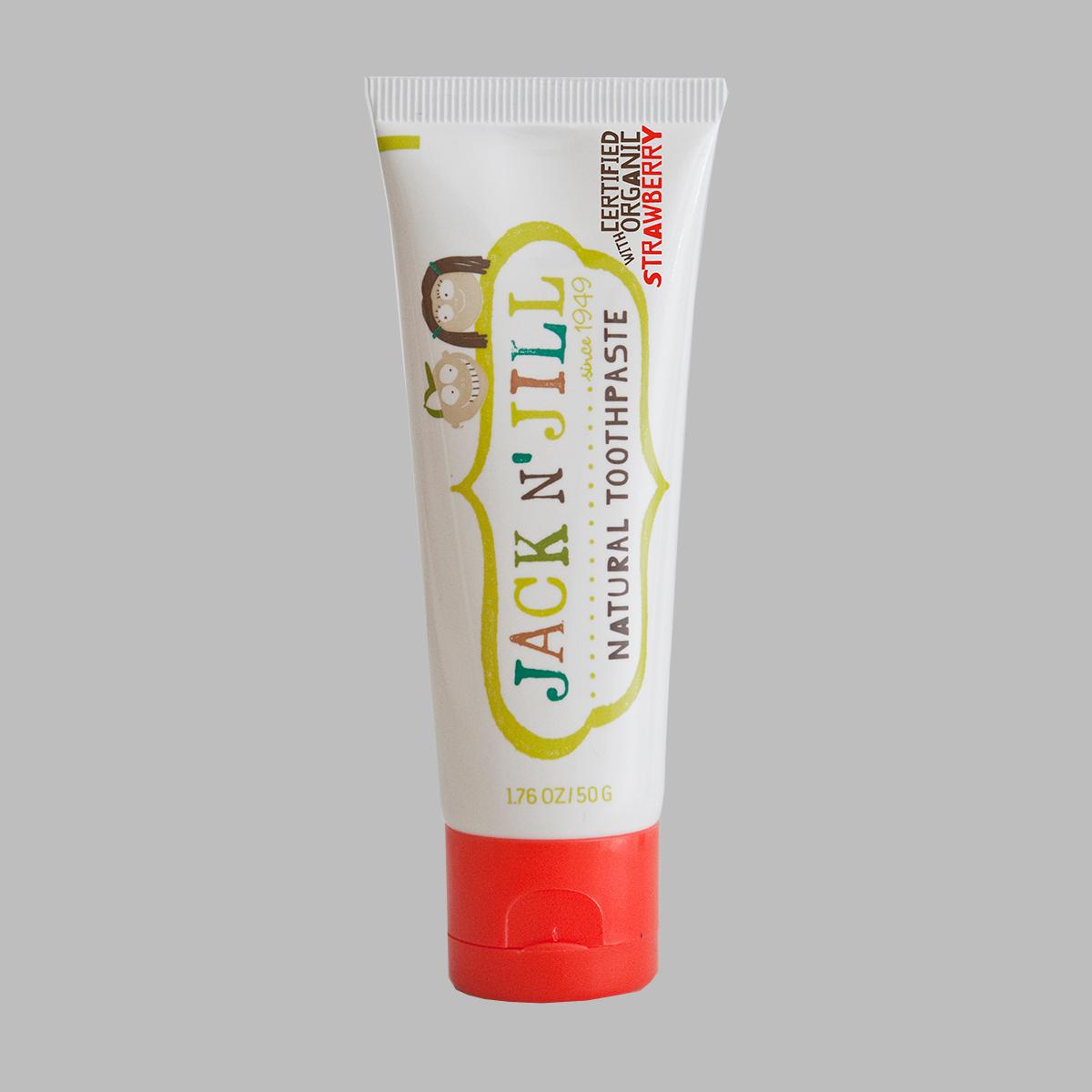 Jack n' Jill - Natural Organic Children's Toothpaste (Strawberry) 50g