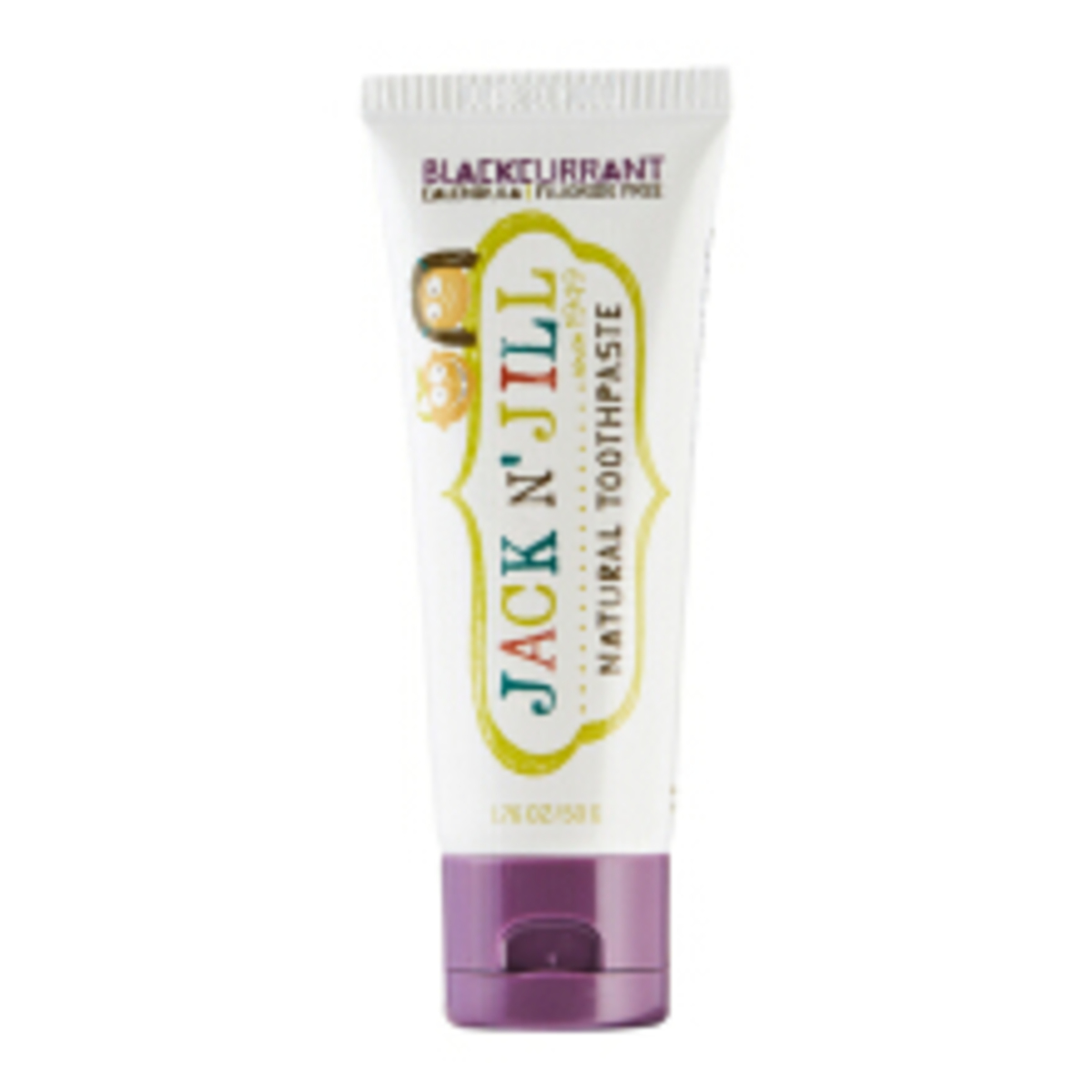 Jack n' Jill - Natural Organic Children's Toothpaste  (Blackcurrant) 50g