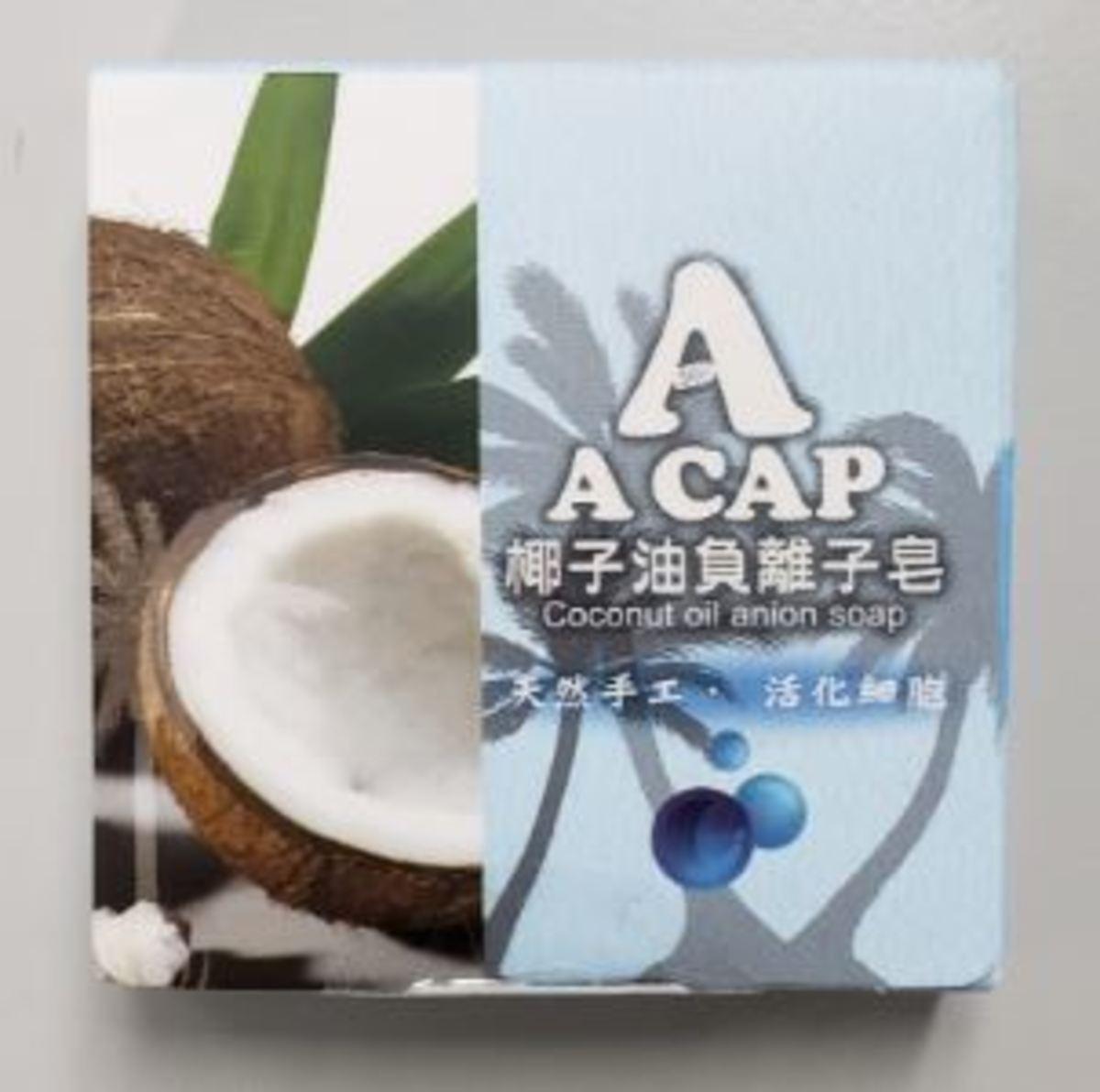 Coconut Oil anion soap, 25g