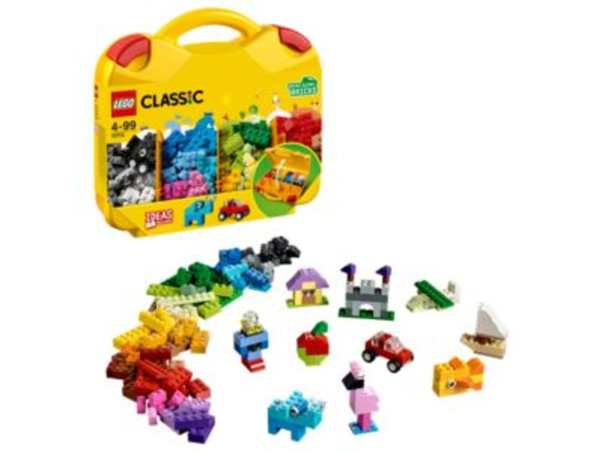 10713 CLASSIC CREATIVE SUITCASE 213 Pieces