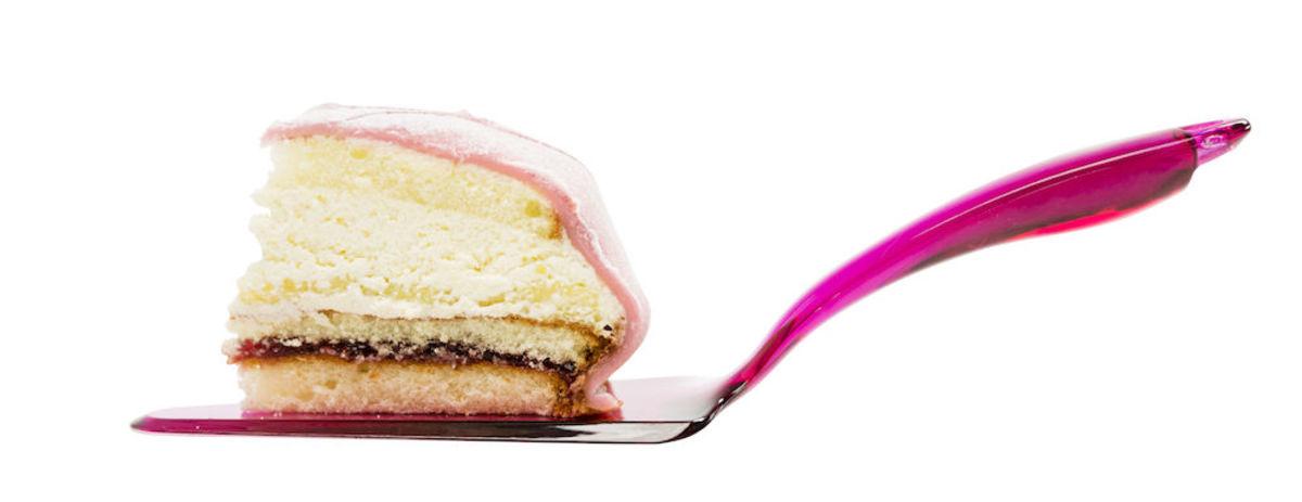 Cake server pink
