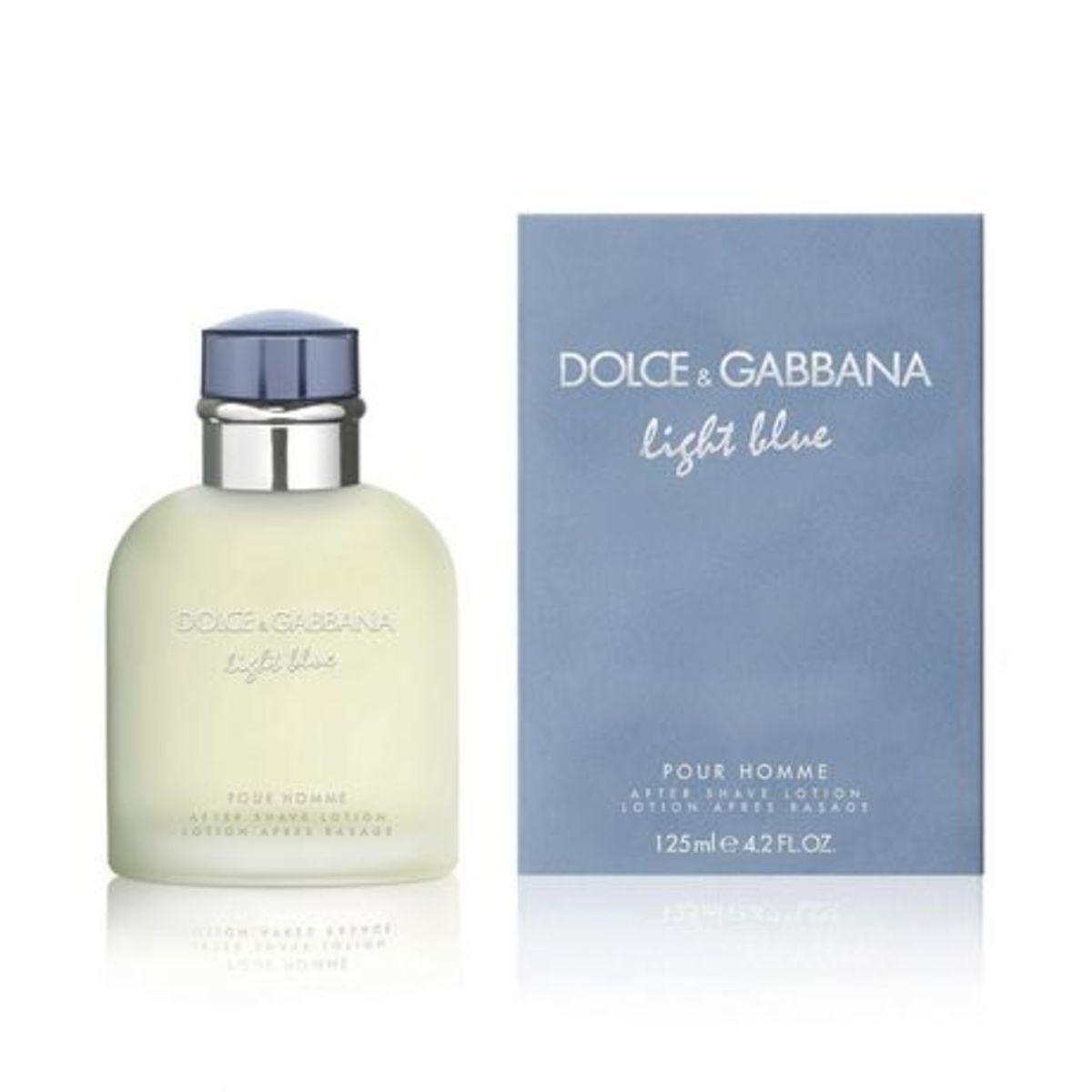 Light Blue Pour Homme EDT 125ml [Parallel Import]