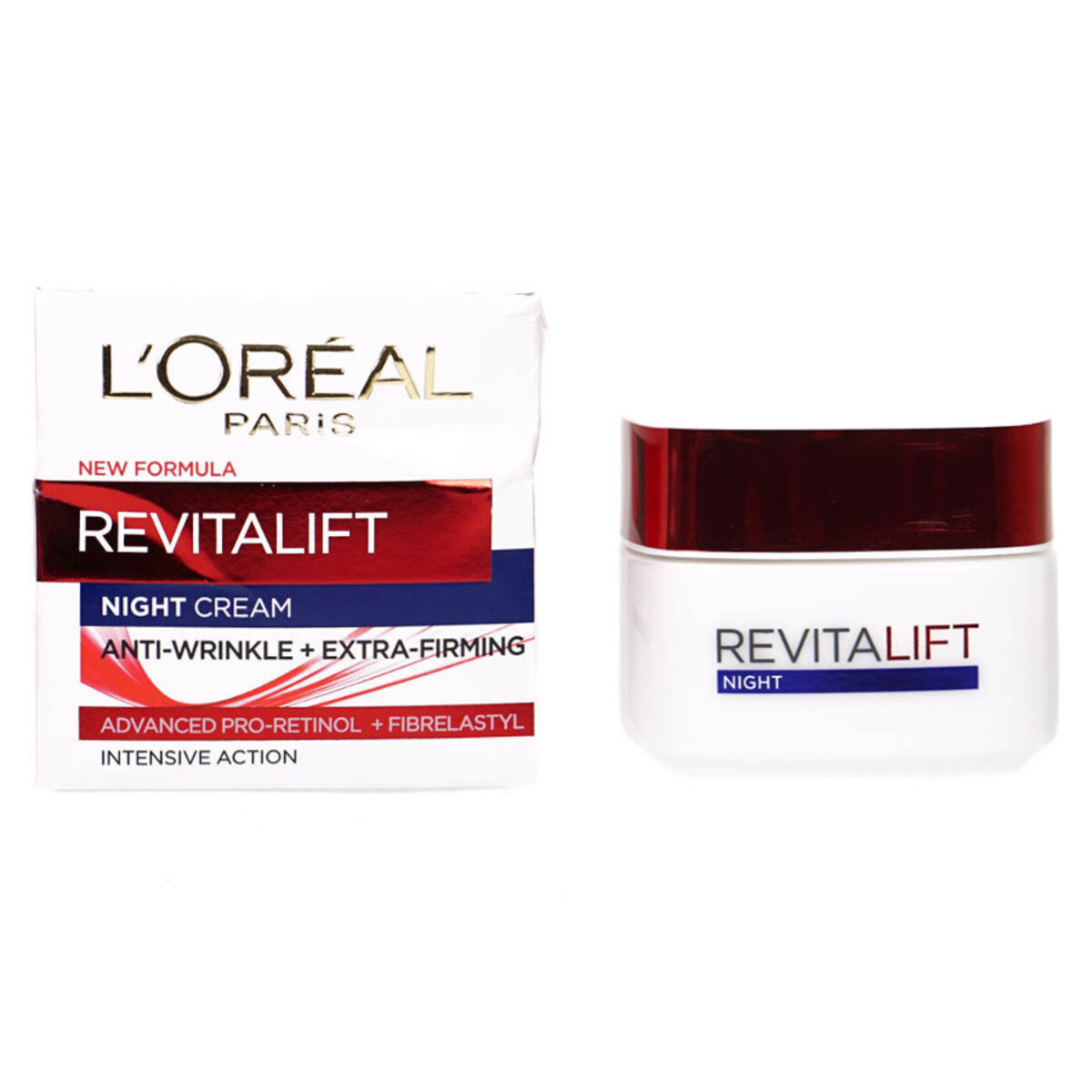 Revitalift Anti Wrinkle Firming Night Cream 50ml*old/new package randomly deliver [Parrallel Import]