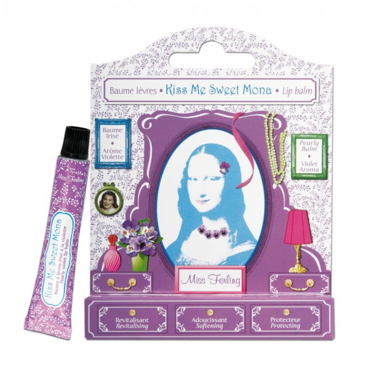 Kiss Me Sweet Mona (Lip Balm) 7.5ml [Parallel Import]