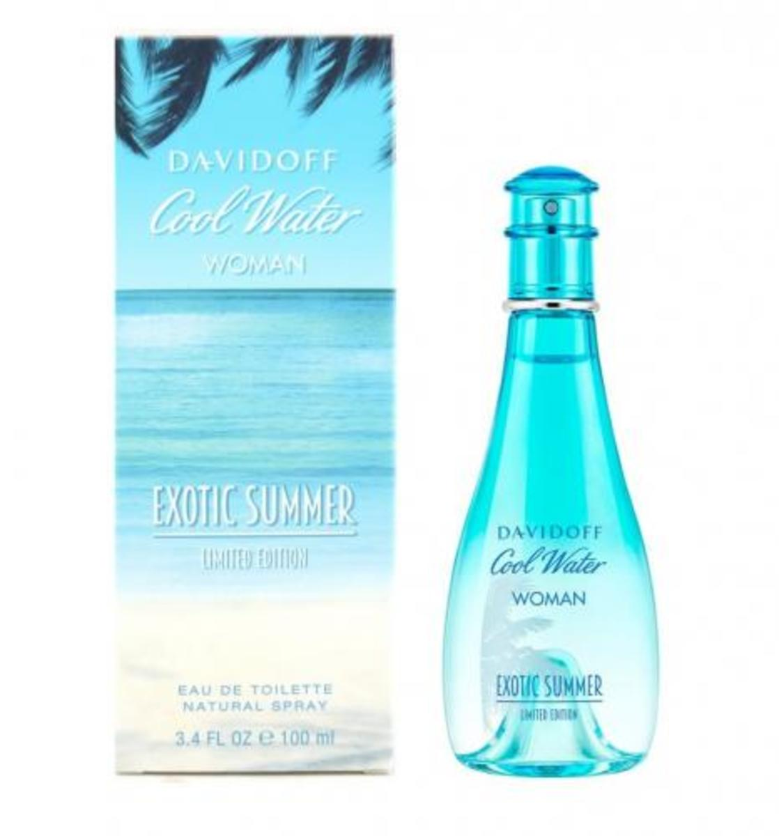 Cool Water Woman Exotic Summer EDT 100ml [Parallel Import]
