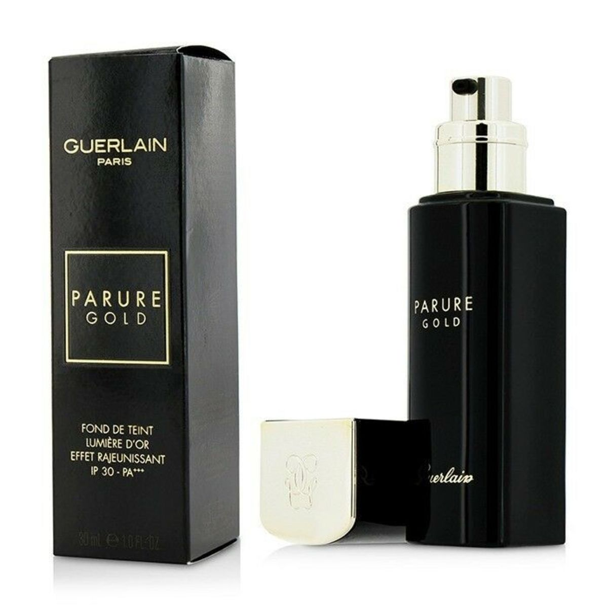 Papure Gold Radiance Foundation 30ml #02 [Parallel Import]