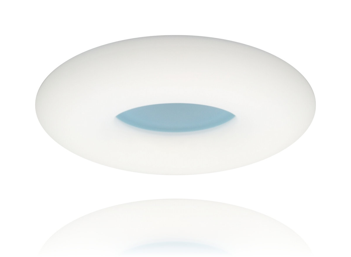 Ceiling 2973 Blue - LED 24+24W -  3 sections colour - lighting