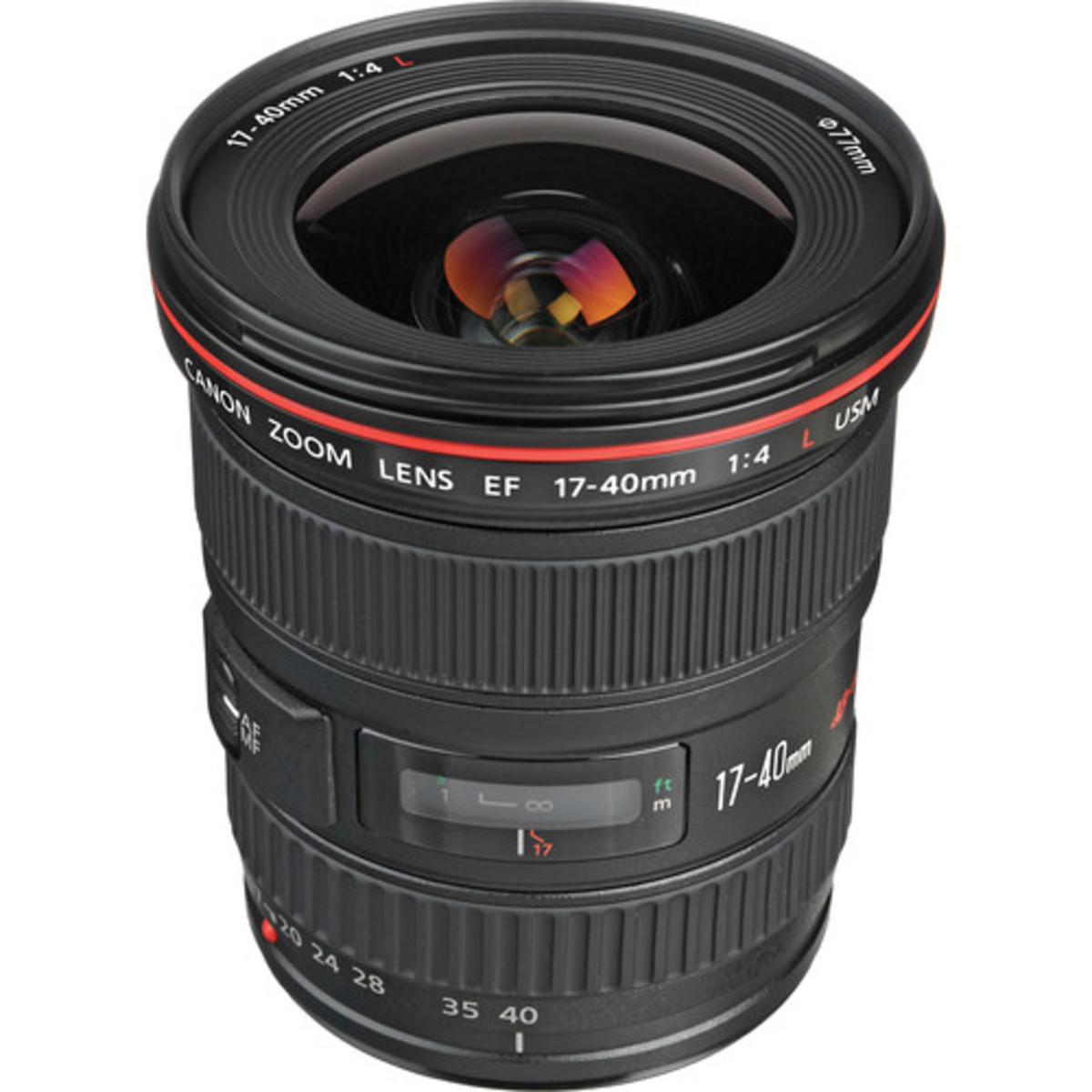 EF 17-40mm f/4L USM Lens (Parallel imported)