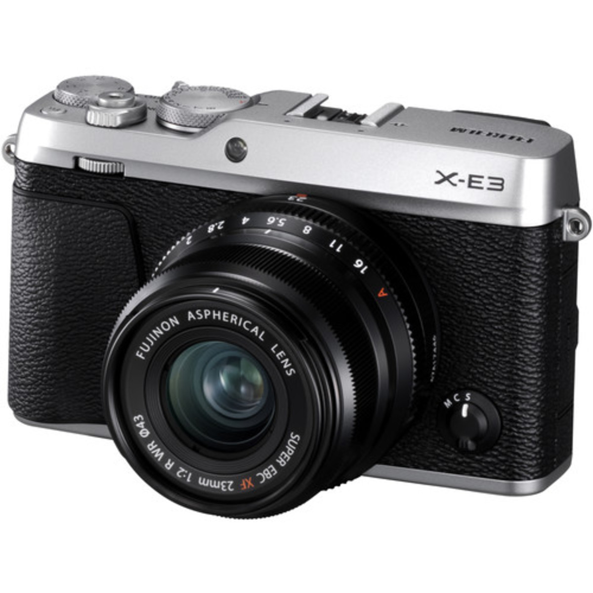 X-E3 Mirrorless Digital Camera with 23mm f/2 Lens - [銀色] (平行進口)