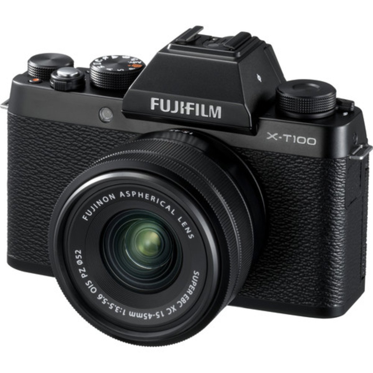 X-T100 Mirrorless Digital Camera with 15-45mm Lens - [黑色] (平行進口)