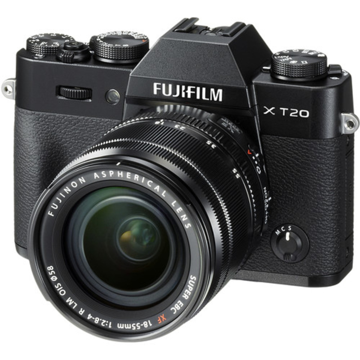 Fujifilm X-T20 Mirrorless Digital Camera with 18-55mm Lens - [Black] (Parallel imported)