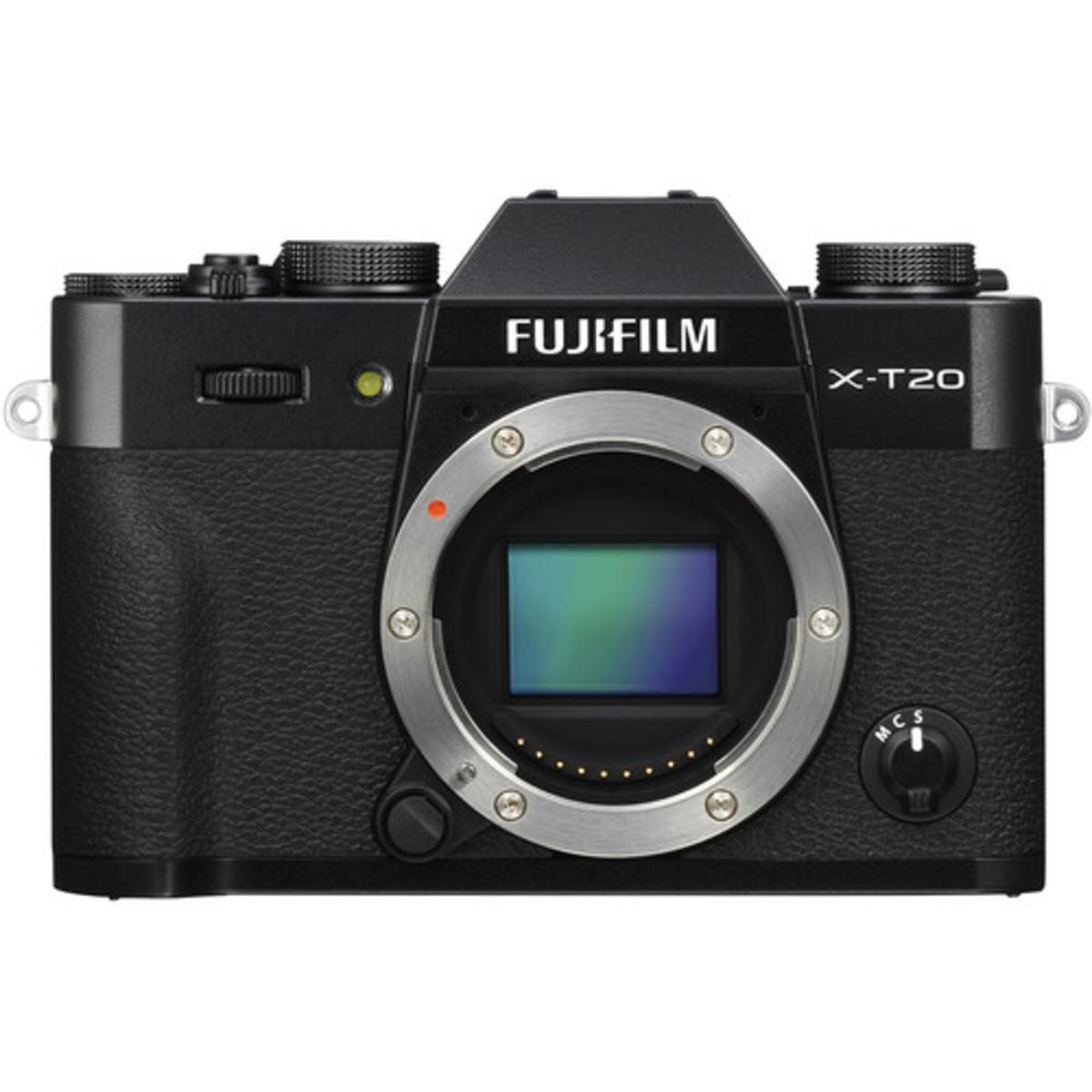X-T20 Mirrorless Digital Camera - [淨機身, 黑色] (平行進口)