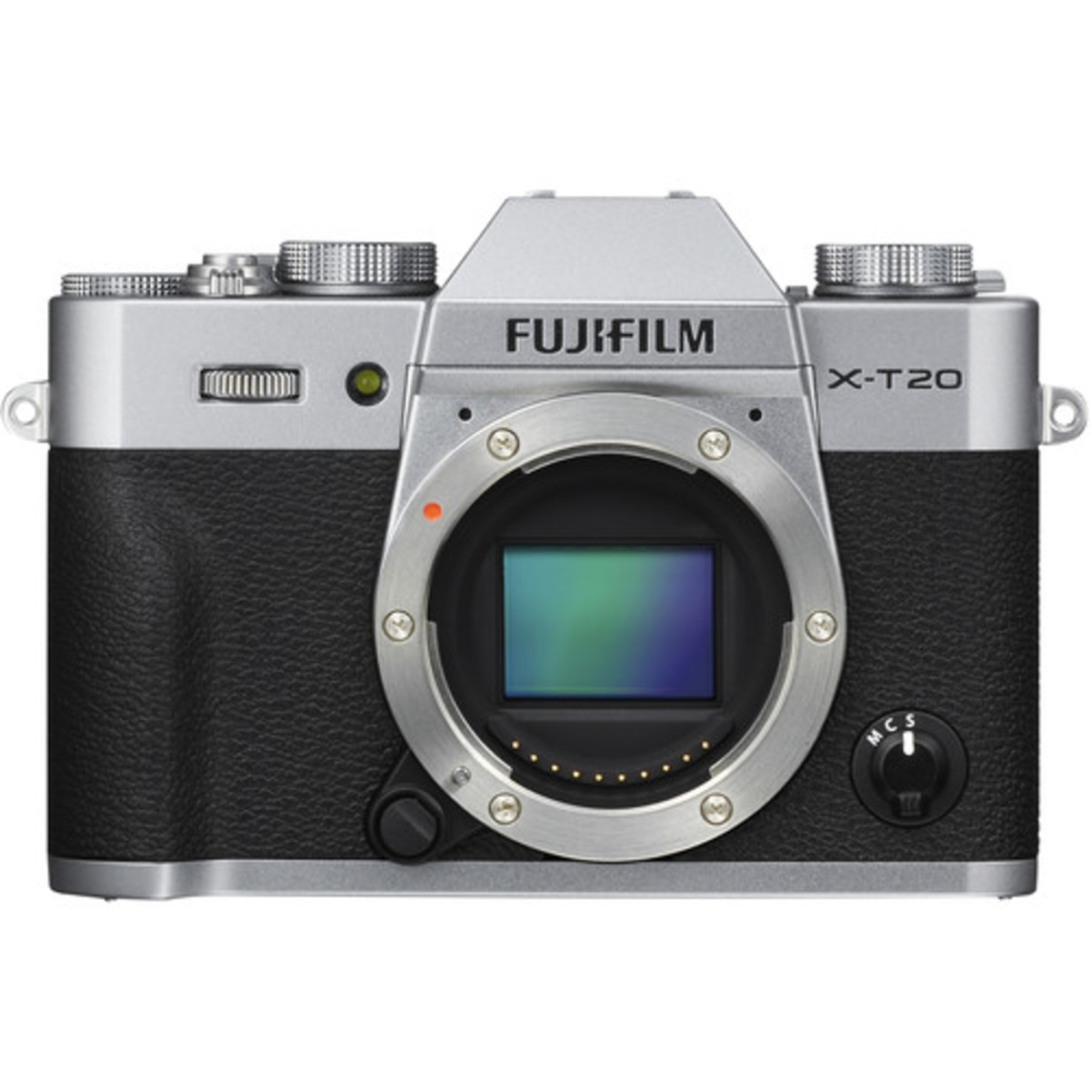 Fujifilm X-T20 Mirrorless Digital Camera - [Body Only, Silver] (Parallel imported)