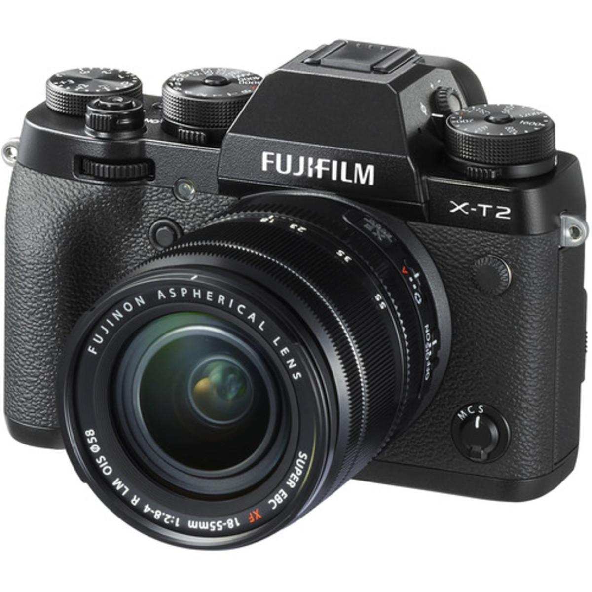 X-T2 Mirrorless Digital Camera with 18-55mm Lens - [Black] (Parallel imported)