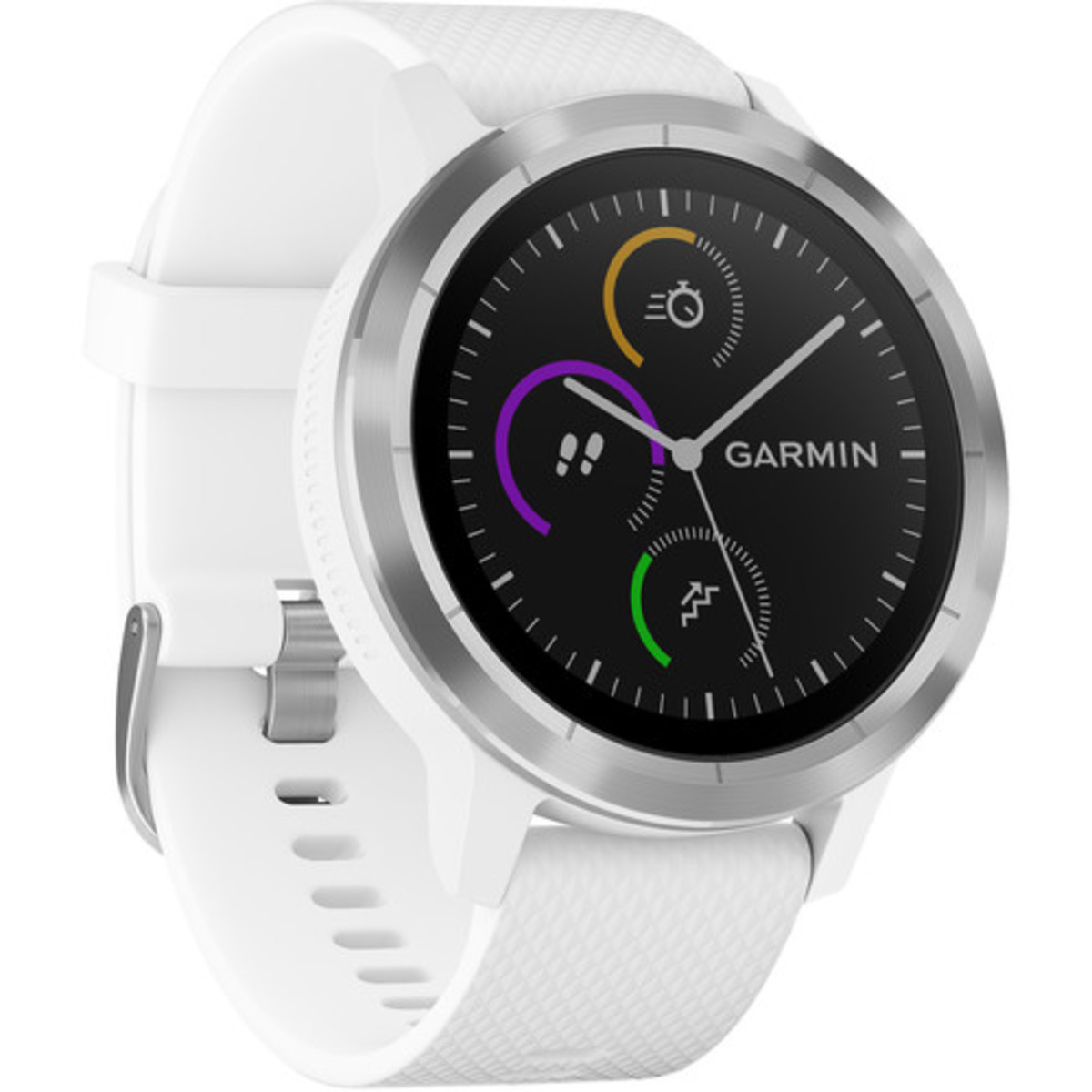 Vivoactive 3 - [White with Stainless Hardware] - English Version (Parallel imported)