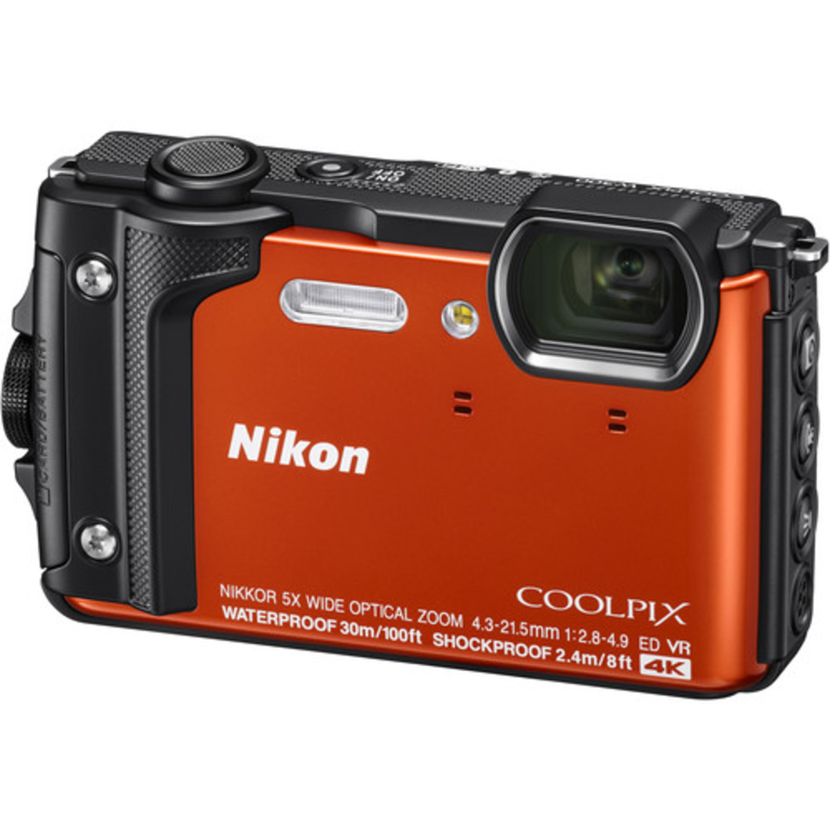 COOLPIX W300 Digital Camera - [Orange] (Parallel imported)