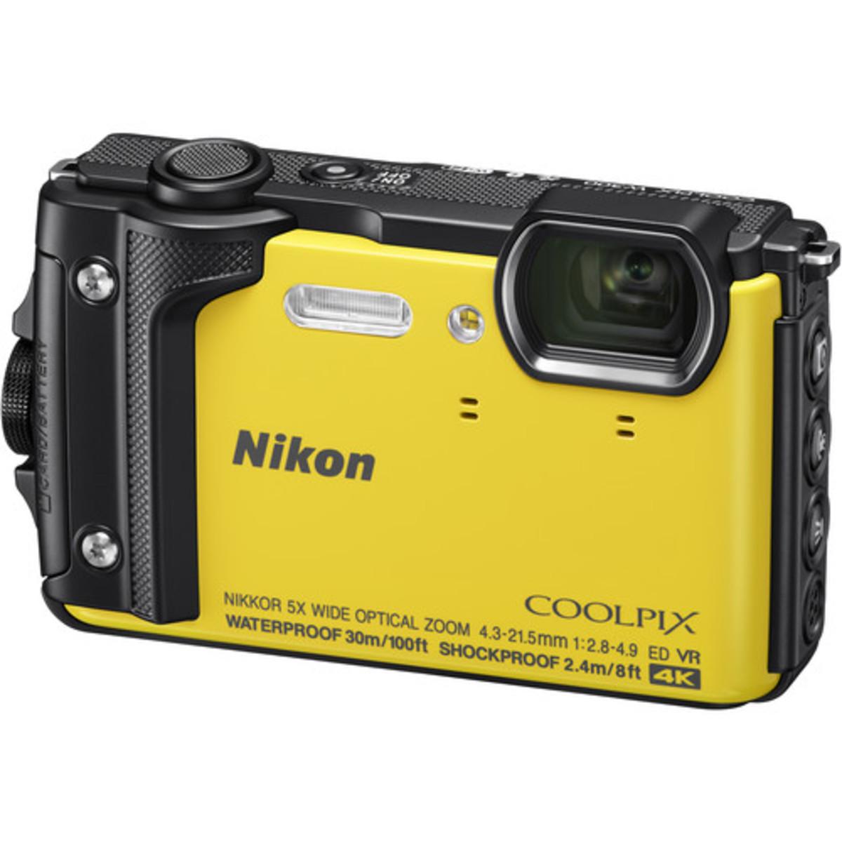 COOLPIX W300 Digital Camera - [黃色] (平行進口)