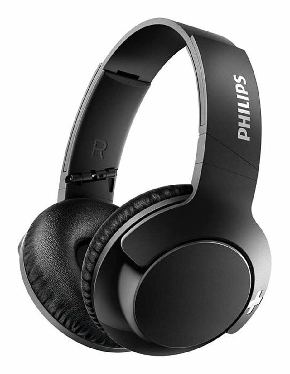 SHB3175 Bass+ Bluetooth Headphones Wireless with Mic - [Black] (平行進口)