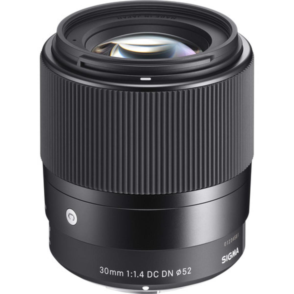 Sigma 30mm f/1.4 DC DN Contemporary Lens - [For Sony E]