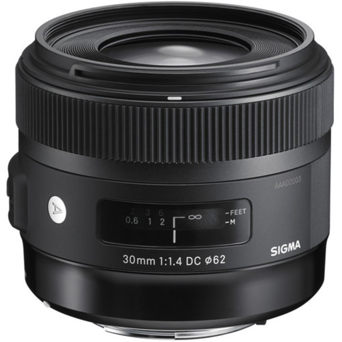 Sigma 30mm f/1.4 DC HSM Art Lens - [For Canon] (平行進口)
