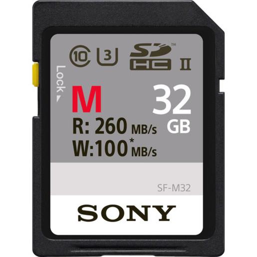 Memory Card UHS-II SD, CL10, U3, Max R260MB/s, W100MB/s (SF-M32) (SF-M32) - [32GB]