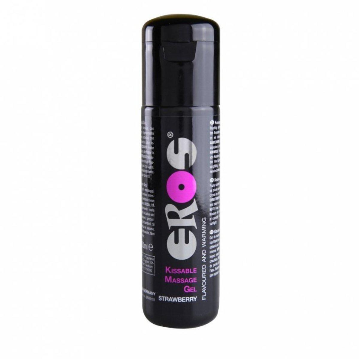 Eros - Kissable Massage Gel - 100ml - Strawberry
