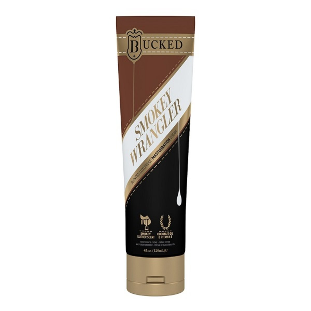 Bucked Smokey Wrangler Masturbation Cream 120ml