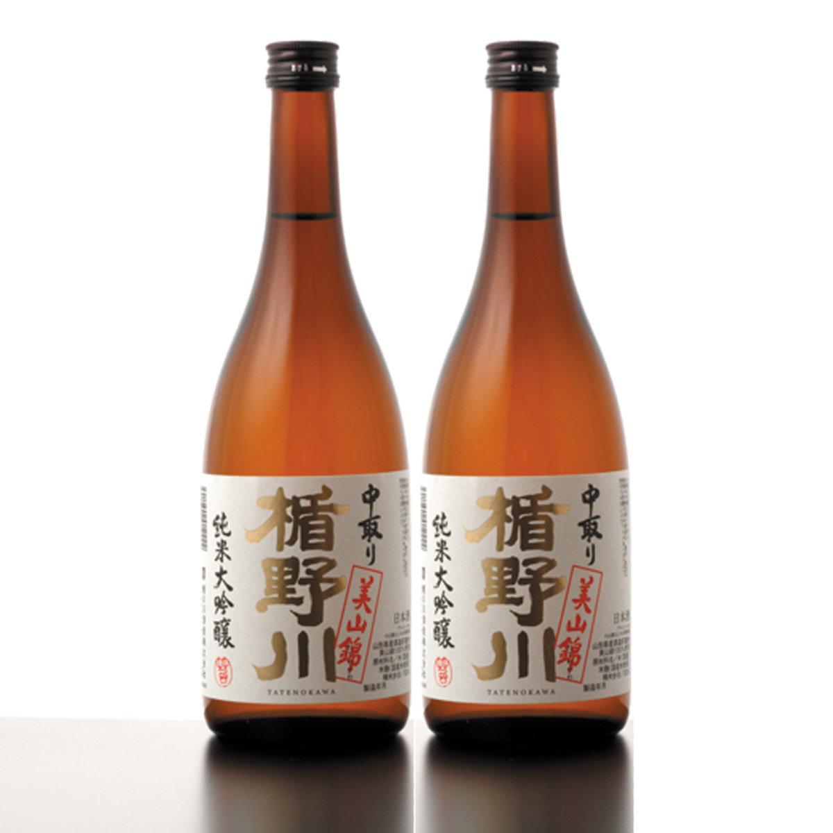 Tatenokawa Nakadori Junmai Daiginjyo Combo 2