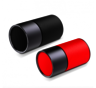 i6 Dual Portable Bluetooth Speaker - Black+Red (Authorized Goods)