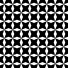 Tiles - BLACK & WHITE - 200x200mm (15 pieces)