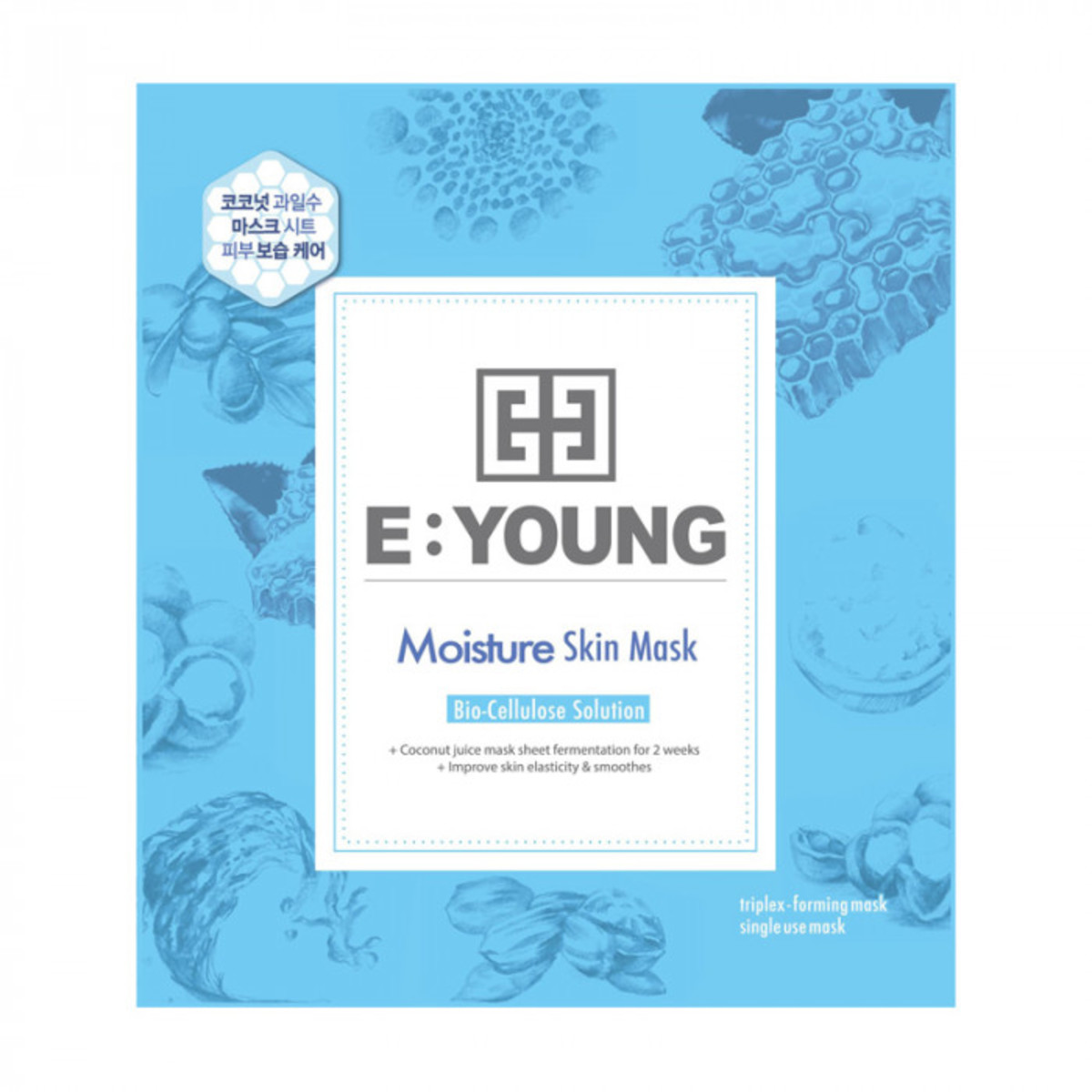 E:YOUNG Moisture Skin Mask (5pcs)  (Expiry Date: 08/2019)