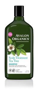 Avalon Organics 茶樹護理頭皮洗髮露